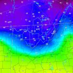 0900 UTC Dewpoint Forecast -- BEFORE SPoRT ADAS