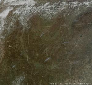 500m MODIS Natural Color image, 1859 UTC 18 March