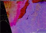 Figure 3.  SPoRT MODIS RGB Dust product valid 0417 UTC April 15th 2012