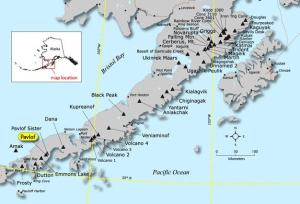 Location of Mount Pavlof. Photo from the Alaska Volcano Observatory. (http://www.avo.alaska.edu/images/image.php?id=13407)