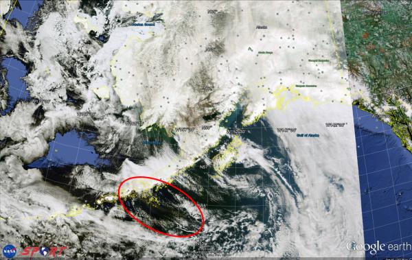 VIIRS True Color Image 2135 UTC 18 May 2013