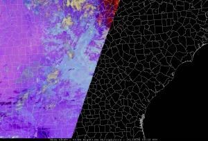 8 June 2013 - 0828 UTC - VIIRS RGB Nighttime Microphysics