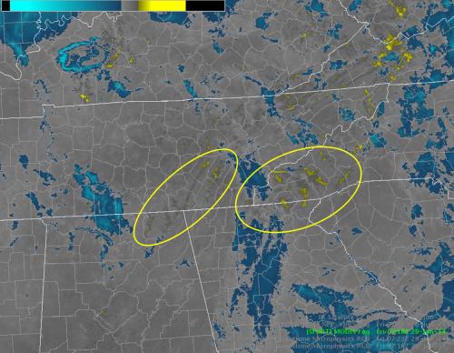 Color-enhanced MODIS 11-3.9 u m product valid 0718 UTC 20 June 2014