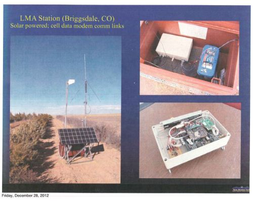 LMA stations at Briggsdale, Colorado.  Photo available from NM Tech.