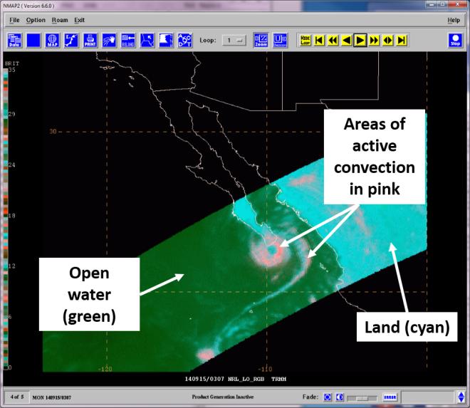 TRMM 37 GHz RGB