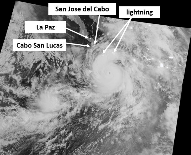 NASA Next-Generation Satellite Observations of Hurricane Odile