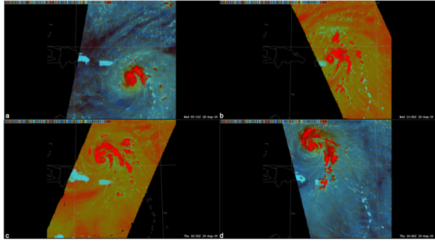 The Evolution of Hurricane Dorian as Viewed from NASA's GPM Constellation